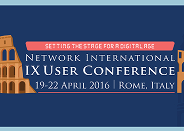 IX User Conference, Rome-Italy
