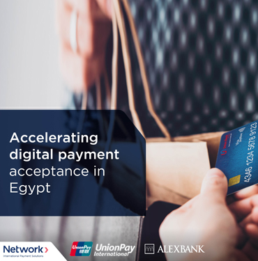 ALEXBANK collaborates with UnionPay International and Network International to expand retail payment services for the benefit of consumers and merchants in Egypt